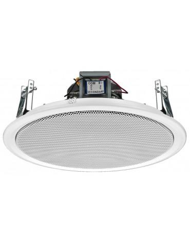 Monacor EDL-10TW głośnik instalacyjny, sufitowy
