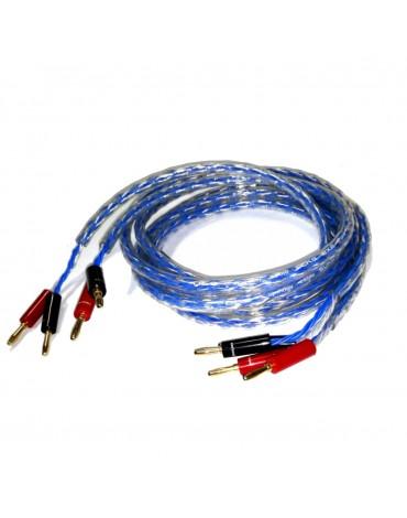 DLS SCKS 2 x 2 kabel głośnikowy - konfekcja 2 x 2.5m
