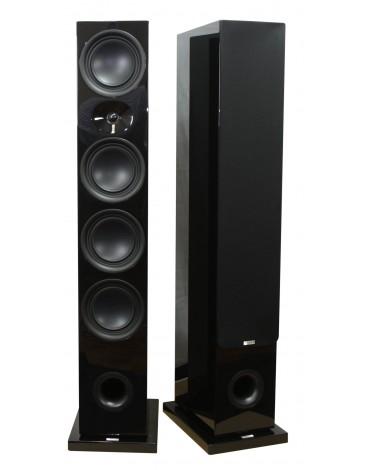 Advance Paris Kubik KC 800 kolumny głośnikowe podłogowe kolor czarny