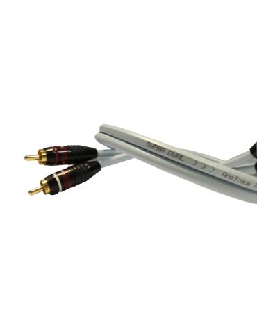 Supra-R Dual RCA 2 x 0,75m kabel sygnałowy