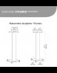Norstone Stylum 3 podstawki pod kolumny głośnikowe wymiary
